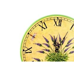 Zegar drewniany - 26 cm