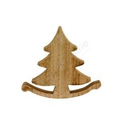 Dekoracja drewniana - choinka