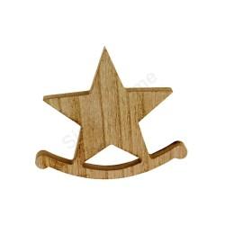 Dekoracja drewniana - gwiazdka