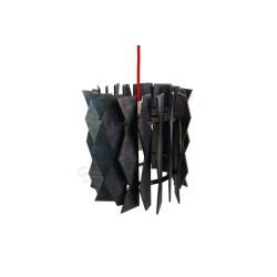 Lampa wisząca ZIG-ZAG BLACK