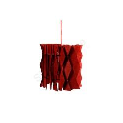 Lampa wisząca ZIG-ZAG RED
