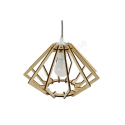 Lampa wisząca DIAMOND NATURAL