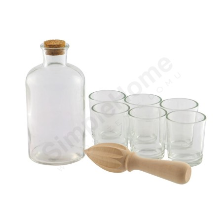 Zestaw do alkoholu - Karafka i szklanki