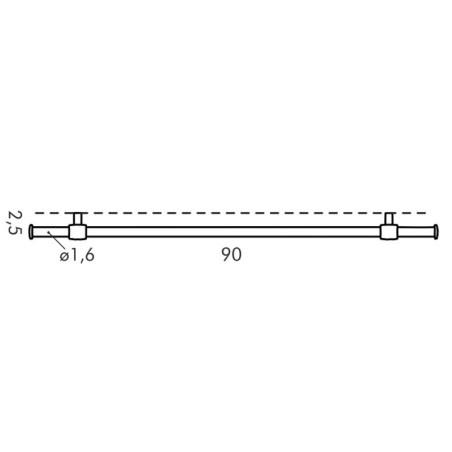 Reling kuchenny 90 cm - Tescoma