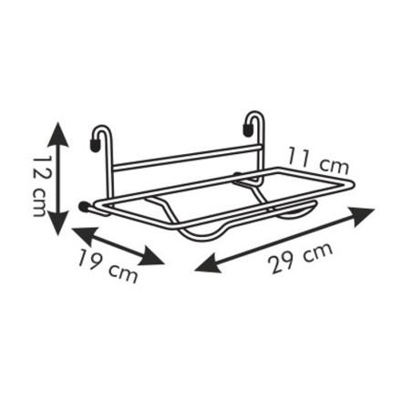 Uchwyt na ręczniki papierowe - Tescoma