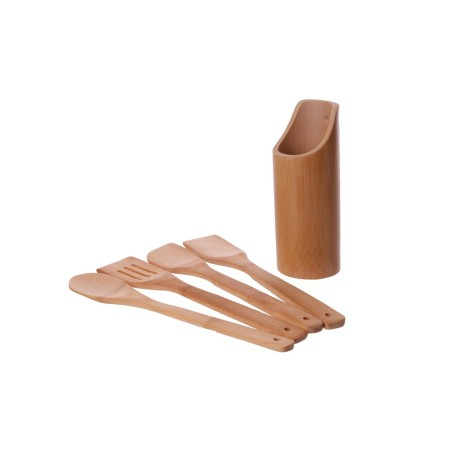 Komplet bambusowych przyborów kuchennych