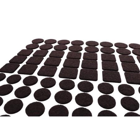 Komplet 120 podkładek filcowych pod meble