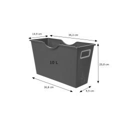Pojemnik plastikowy - organizer