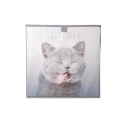 Pudełko materiałowe 31 x 31 cm - Kot