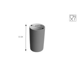 Kubek na akcesoria łazienkowe