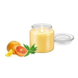 Świeca zapachowa werbena -  Tescoma