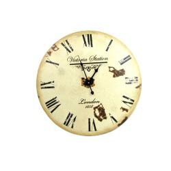 Zegar ścienny Victoria Station - 60 cm
